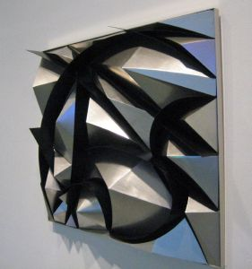 Sculptural Construction of Noise and Speed by Giacomo Balla