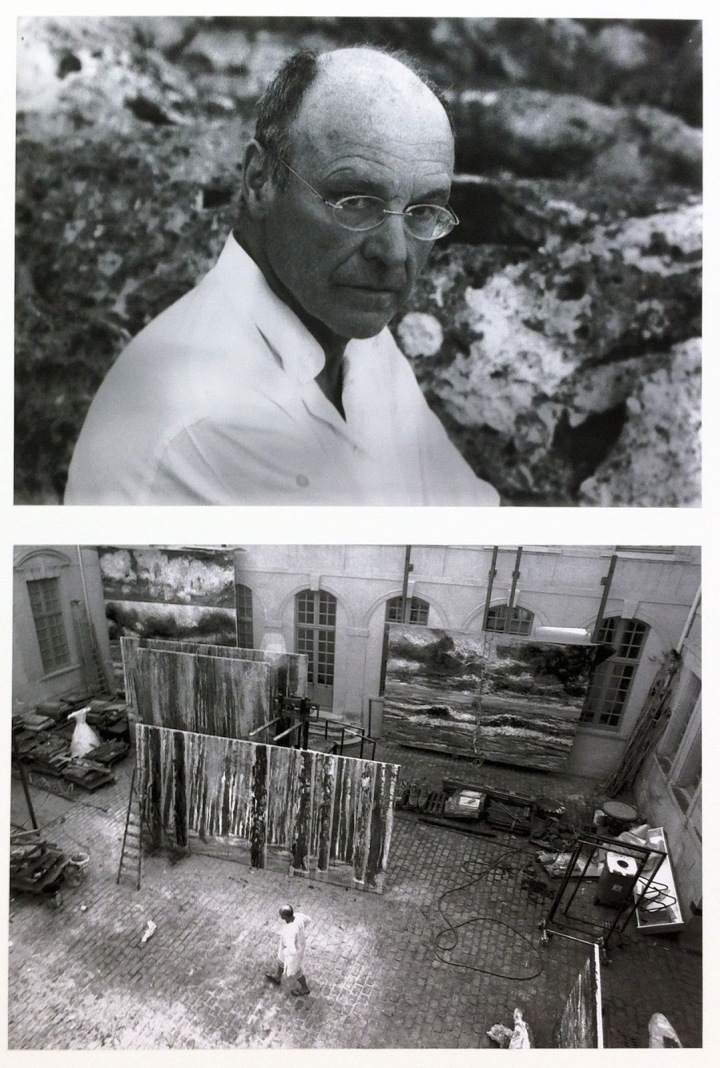 Anselm Kiefer and his studio