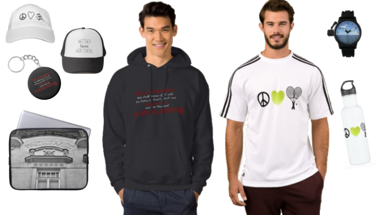 Clothing and accessories for men.
