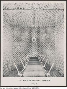 Image of anechoic chamber in Harvard