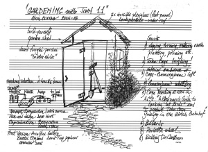 Plans for sound installation in garden shed