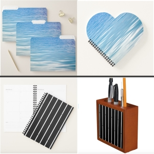 Coordinated office supplies by Star Via