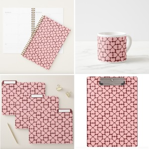 Home Office Career Pink by Via